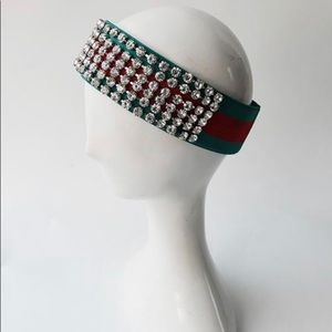 Accessories - Striped and Bling Headband